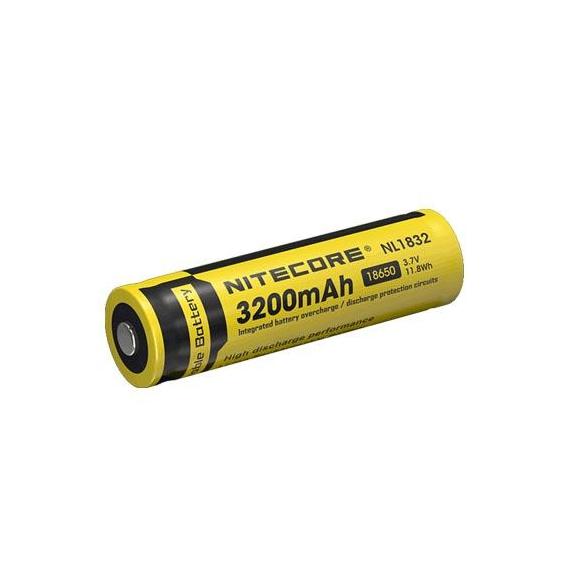 Nitecore 18650 Li-ion Battery 3200 mAh
