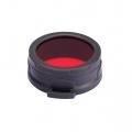 Nitecore filter červený 50mm
