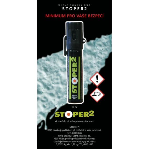 Penový obranný sprej STOPPER 2 50ml