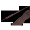 Remeň na pušku CZ nylon/guma, hnedý