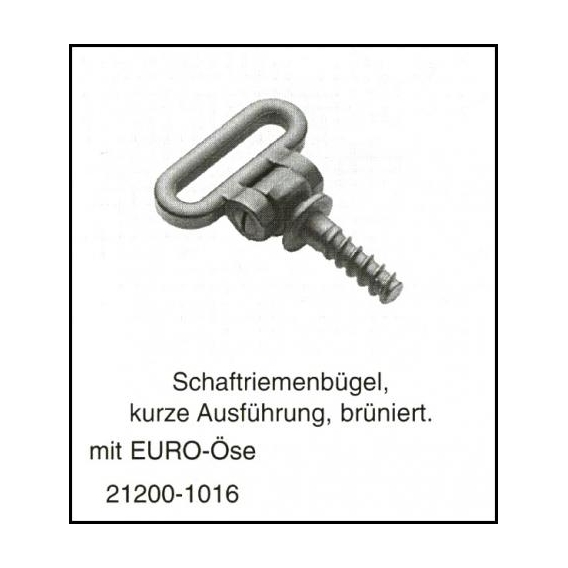 Pútko na remeň - krátke EURO