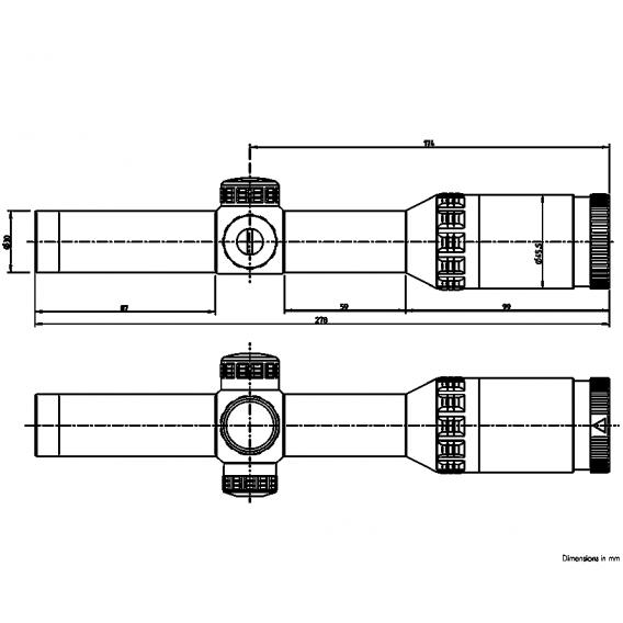 Kahles Helia 1-5x24i SR