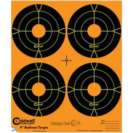 """Reflexný terč Caldwell - Orange Peel Bullseye 4"""" 25ks"""