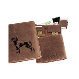 Kožená peňaženka Kopov stojatá