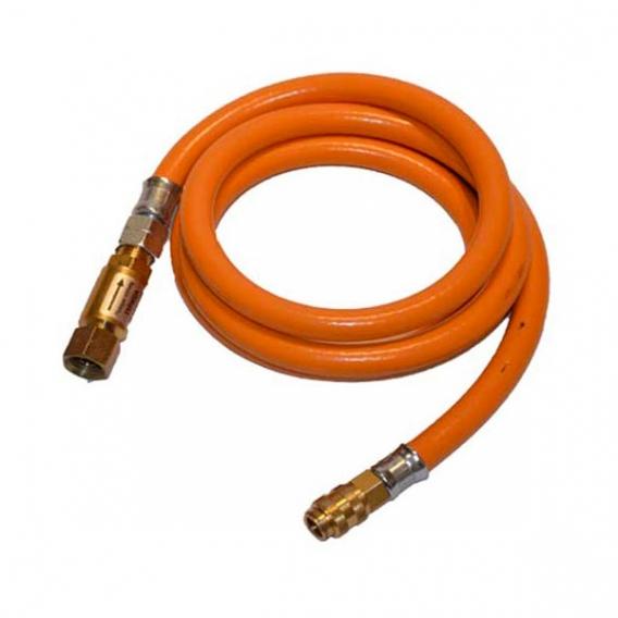 Plynová hadica pre ohrievač 2m