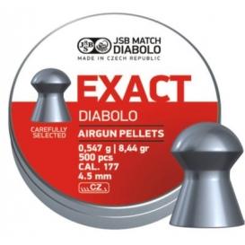 Diabolo JSB Exact 4,51mm/.177, 0,547g/8,44gr, 500ks