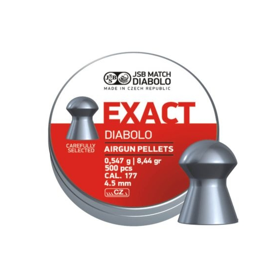 Diabolo JSB Exact 4,52mm 500ks