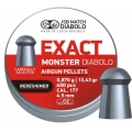 Diabolo JSB Exact Monster Redesigned 4,52mm/.177, 0,870g/13,43gr, 400ks