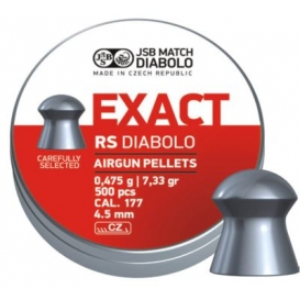 Diabolo JSB Exact RS 4,52mm/.177, 0,475g/7,33gr, 500ks