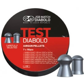 Diabolo JSB Exact Test 4,50mm/.177, 350ks
