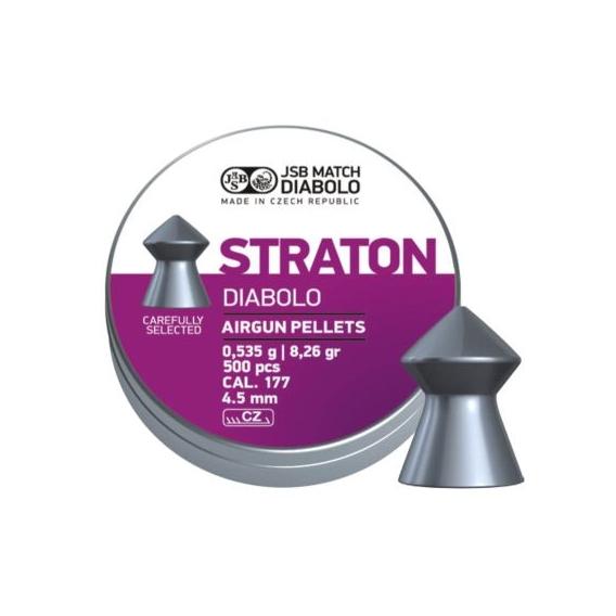 Diabolo Straton 4,50mm/.177, 0,535g/8,26gr, 500ks