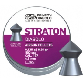 Diabolo JSB Straton 4,50mm/.177, 0,535g/8,26gr, 500ks