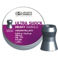 Diabolo JSB Heavy Ultra Shock 4,50mm/.177, 0,670g/10,34gr, 350ks