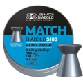 JSB Blue Match Diabolo S100 4,49mm/.177, 0,535g/8,26gr, 500ks