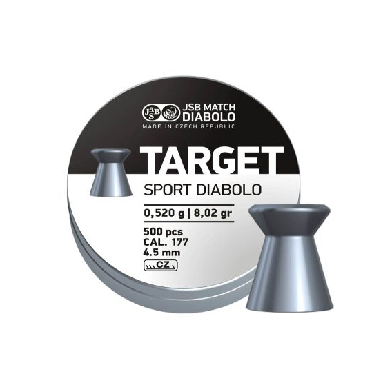 JSB Diabolo TARGER SPORT .177 4,50mm/.177, 0,520g/8,02gr, 500ks