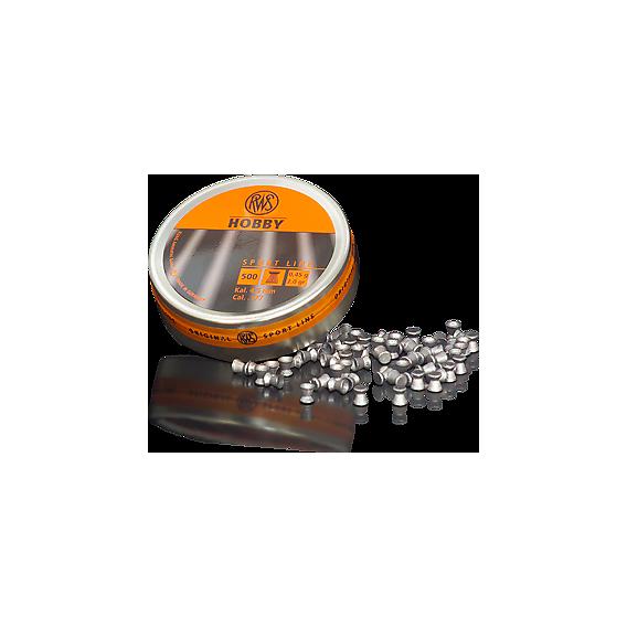 RWS Diabolo Hobby 4,5mm/.177, 0,45g/7,0gr, 500ks