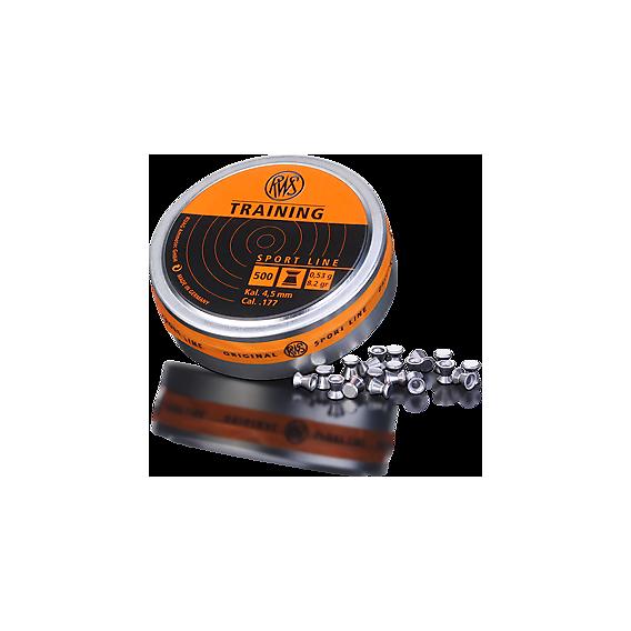 RWS Diabolo Training 4,5mm/.177, 0,53g/8,2gr, 500ks
