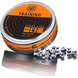 RWS Diabolo Training 4,5mm/.177, 0,53g/8,2gr, 500ks