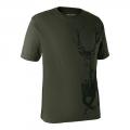 DEERHUNTER T-Shirt with Deer/ poľovnícke tričko