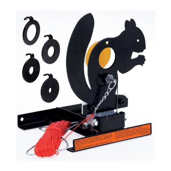 Terč mechanický preklápací - veverica