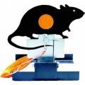 Terč mechanický preklápací - potkan