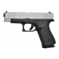 Glock 48 Silver Slide, kal. 9x19mm, 10r., (47837)