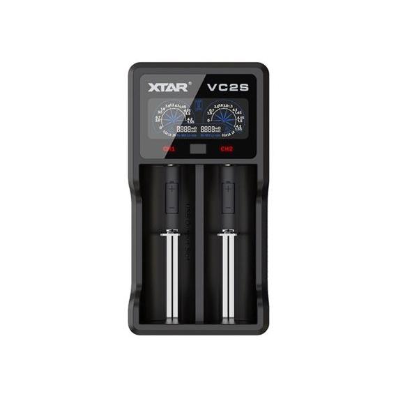 Xtar VC2S inteligentná rýchlonabíjačka USB
