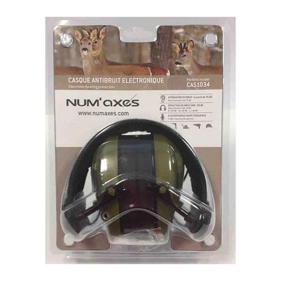 NUM´AXES Chrániče sluchu Acoustic Electronic zelené