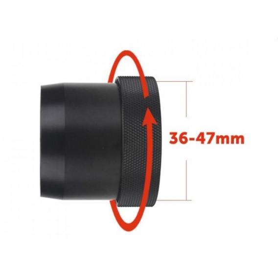 Rýchloupínacia objímka pre PARD NV007 a NV007A (od 36 do 47mm)