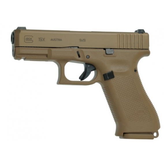 Glock 19X EU (Coyote), kal. 9x19mm, (47206)