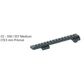 Picatinny lišta jednodielna CZ 550/557 Medium