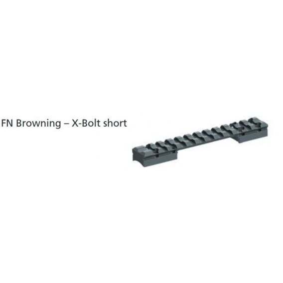Picatinny lišta jednodielna Browning X-Bolt short