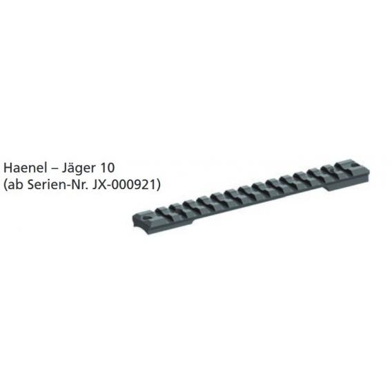 Picatinny lišta Haenel Jaeger 10 (Nr. JX-000921-)