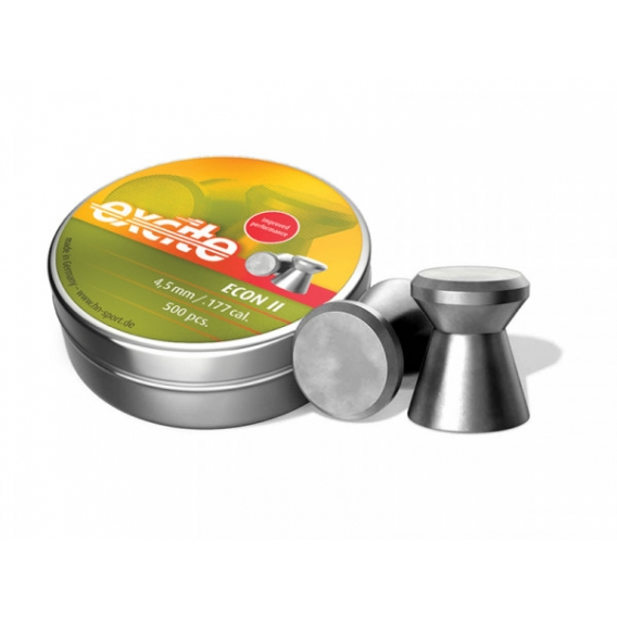 H&N Diabolo Excite Econ II 4,5mm/.177, 0,48g, 500ks