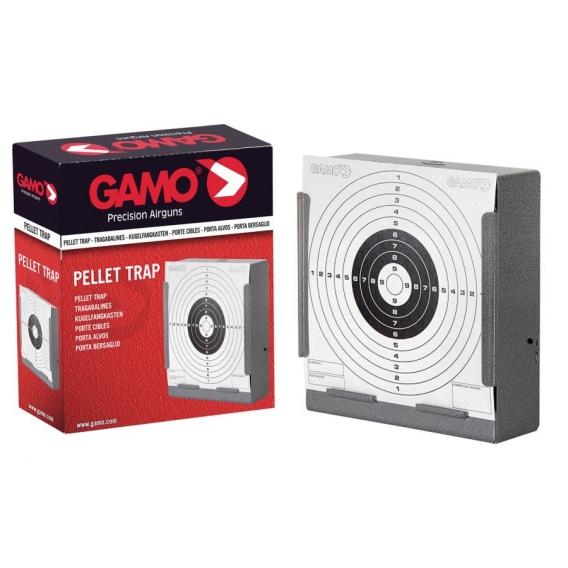 Gamo - plochý lapač diaboliek  pre terče 14x14cm
