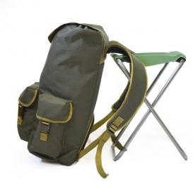 Poľovnícky batoh Ballpolo Standard 35 litrov - so stoličkou X 40cm