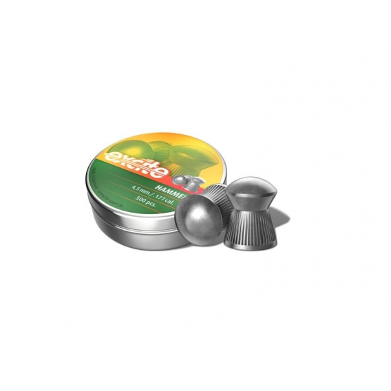 H&N Diabolo Excite Hammer 4,5mm/.177, 0,51g, 500ks