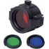 NexTorch - Set farebných filtrov - red, green, blue (hran.),mod.: FT32