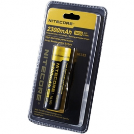 Nitecore 18650 Li-ion battery 2300 mAh