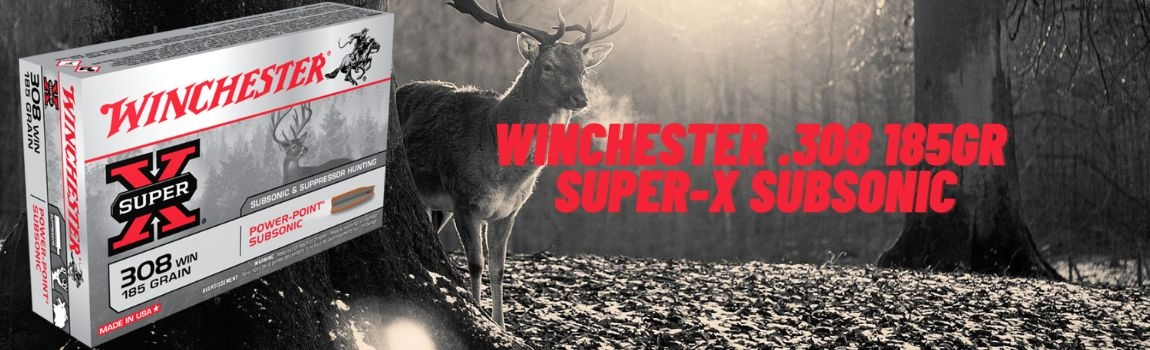 Winchester .308 185gr. SUPER-X SUBSONIC